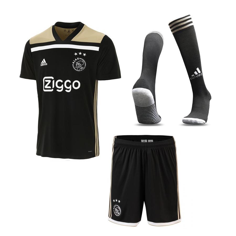 nuevo producto 07c9a 442cf Uniforme Ajax Visitante 2018-2019 Versión Aficionado